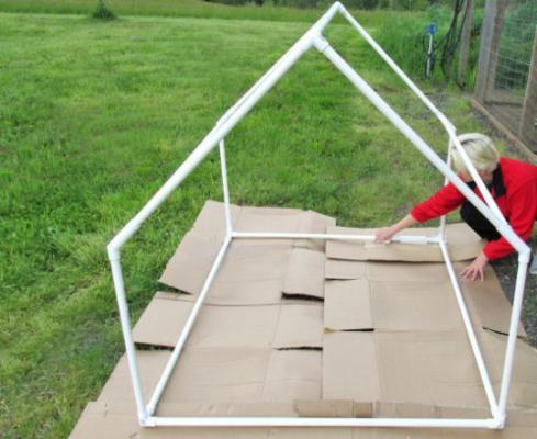 Como Fazer uma Tenda para Seus Filhos (foto: internet)